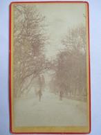 "GAP (05) -  ""Une Rue"" - Photographie Format CDV - Albumine - Photographe Anonyme - TBE - Photographs"