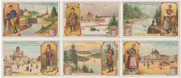 895 Liebig - 6 Postcard, In Finlandia, 1907 - Objetos Para Fumadores