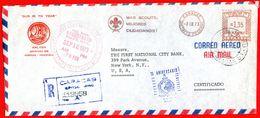 1973 SCOUT - CARACAS VENEZUELA EMA METER FREISTEMPEL - Scoutismo