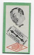 LAMETTA DA BARBA - SOUPLEX -   ANNO 1935/55 -  RARA - Razor Blades