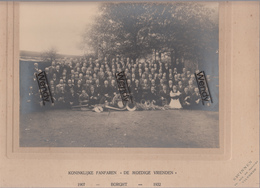 Borght-Vilvoorde(originele Foto K.F. De Moedige Vrienden 1907-1932 - Ft Foto 16,50x22,50 - Ft Karton 21x29?50) - Vilvoorde