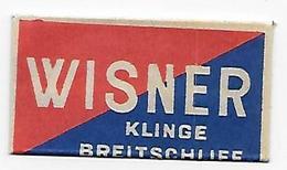 LAMETTA DA BARBA -WISNER KLINGE -   ANNO 1940/50 -  POCO COMUNE - Lamette Da Barba