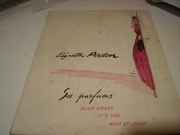 ANCIENNE PUBLICITE SES PARFUMS ELIZABETH ARDEN 1941 - Perfume & Beauty