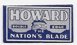 LAMETTA DA BARBA -HOWARD  -   ANNO ? -  U.S.A. - Razor Blades