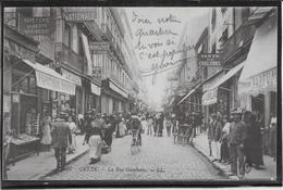 Sete - Cette - La Rue Gambetta - Sete (Cette)