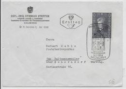 OBLITERATION ILLUSTREE (SONDERSTEMPEL) FDC - AUTRICHE - 1956 - MAISON MOZART à SALZBOURG - 1945-60 Brieven