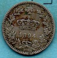 T1a/  ITALY / ITALIE  20 Centesimi 1894 KB - 1861-1946 : Royaume