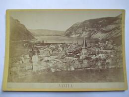 NANTUA (01) -  Photographie De Cabinet - Vue Générale -  Photo Mme Laloge, Nantua - TBE - Photographs