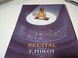 ANCIENNE PUBLICITE PARFUM RECITAL F.MILLOT 1941 - Perfume & Beauty