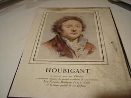 ANCIENNE PUBLICITE PARFUM  DE HOUBIGANT 1941 - Parfums & Beauté