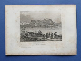 Stampa D'epoca Metà '800 - Gran - Esztergom - Ungheria - Estampes & Gravures