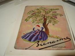 PUBLICITE PARFUM FLEUR BIENAIME HOUBIGANT 1941 - Perfume & Beauty