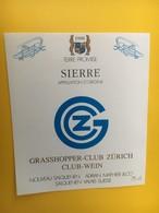 8866 - GC Grasshopper-Club Zurich Suisse Terre Promise 1990 Adrian Mathier - Soccer
