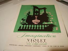 ANCIENNE PUBLICITE PARFUM IMAGINATION DE VIOLET 1941 - Perfume & Beauty