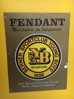 8867 - YB Berner SportClub Young Boys  Suisse Fendant Clocheton De Salquenen - Soccer