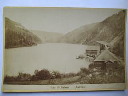 NANTUA (01) -  Photographie De Cabinet  -  LAC DE SYLANS -  Photo Mme Laloge, Nantua - RARE  TBE - Photographs