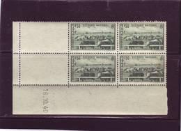 N° 469 - 2,50F+2F ELEVAGE - Tirage Du 14.10.40 Au 19.10.40 - 16.10.1940 - - 1940-1949