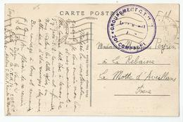 Marcophilie 13 Arles Ateliers Sncf Ef Gctm14 20 Cie 1940 Route De Marseille - Marcophilie (Lettres)