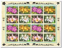 New York 2005, Postfris MNH, Flowers, Orchids - New York - Hoofdkwartier Van De VN