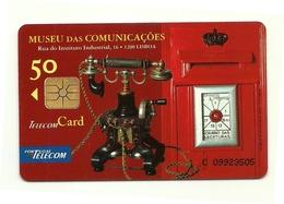 Portogallo - Tessera Telefonica Da 50 Units T558, - Telefoni