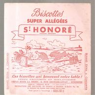 Buvard Biscottes Super Allégées ST HONORE Le Lièvre Et La Tortue - Zwieback