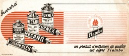 BUVARD  FLAMBO - Buvards, Protège-cahiers Illustrés