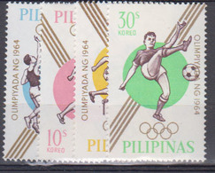 ==PHILIPPINES     1964        N  /   605 / 607       + Non Dentelle          COTE     6 ,75  EUROS        ( Q 84 ) - Philippinen
