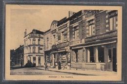Carte Postale 59. Aulnoye-Aymeries Rue Gambetta  Très Beau Plan - Aulnoye