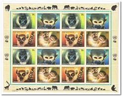 New York 2007, Postfris MNH, Monkeys - New York - Hoofdkwartier Van De VN