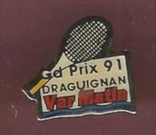 39970-Pin's . Tennis.Draguignan.Var Matin.presse. - Tennis