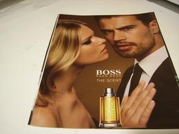 PUBLICITE AFFICHE PARFUM THE SCENT HUGO BOSS 1980 - Perfume & Beauty