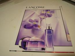 PUBLICITE AFFICHE PARFUM  DE LANCOME  2017 - Perfume & Beauty