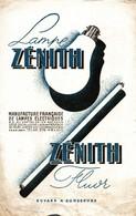 BUVARD  LAMPE ZENITH - Buvards, Protège-cahiers Illustrés