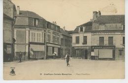 CONFLANS SAINTE HONORINE - Place Fouillère - Conflans Saint Honorine