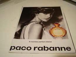 PUBLICITE AFFICHE PARFUM  OLYMPEA  DE PACO RABANNE 2016 - Perfume & Beauty