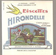 Buvard Biscottes HIRONDELLE Courses D'obstacles à Auteuil - Zwieback