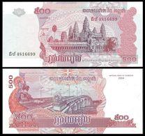 Cambogia 500 Riel 2004 - Cambodia UNC FdS - Cambogia