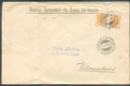 Lettre De VIBORG WIIPURI Le 4-XI-1897 Vers Villmanstrand (Nordiska Aktiebanken Für Handel Och Industri)  - 13348 - Covers & Documents