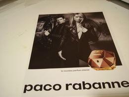 PUBLICITE AFFICHE PARFUM LADY MILLION  DE PACO RABANNE 2016 - Perfume & Beauty