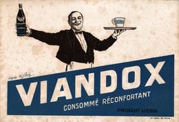 BUVARD  VIANDOX  PRODUIT LEIBIG - Buvards, Protège-cahiers Illustrés
