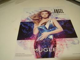 PUBLICITE AFFICHE PARFUM ANGEL DE THIERRY MUGLER - Perfume & Beauty