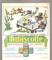 Buvard Biscottes Mabiscotte La Raison Du Plus Fort Est Toujours La Meilleure - Zwieback