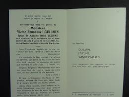 Victor Guilmin épx Lejeune Hoeilaart 1891 Uccle 1961 /38/ - Devotion Images
