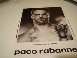 PUBLICITE AFFICHE PARFUM  DE PACO RABANNE 2016 - Perfume & Beauty