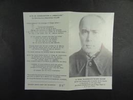 Père Maximilien Kolbe Martyr De La Charité à Auschwitz Proclamé Bienheureux En 1971 /39/ - Devotion Images