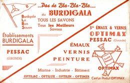 BUVARD  PAS DE BLA BLA BLA PRODUIT OPTIMAX - Buvards, Protège-cahiers Illustrés