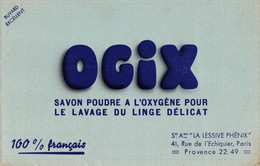 BUVARD  OGIX - Blotters