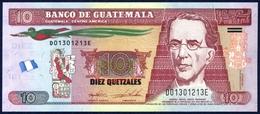 GUATEMALA 10 QUETZALES P-123e 2015 UNC - Guatemala