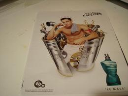 PUBLICITE AFFICHE PARFUM LE MALE DE JEAN PAUL GAUTHIER - Fragrances