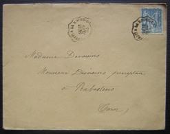 1897 Ambulant La Roche Sur Yon à Nantes (x2), Plus D'autres à L'arrière Bordeaux à Cette, La Rochelle...  Voir Photos - Poste Ferroviaire